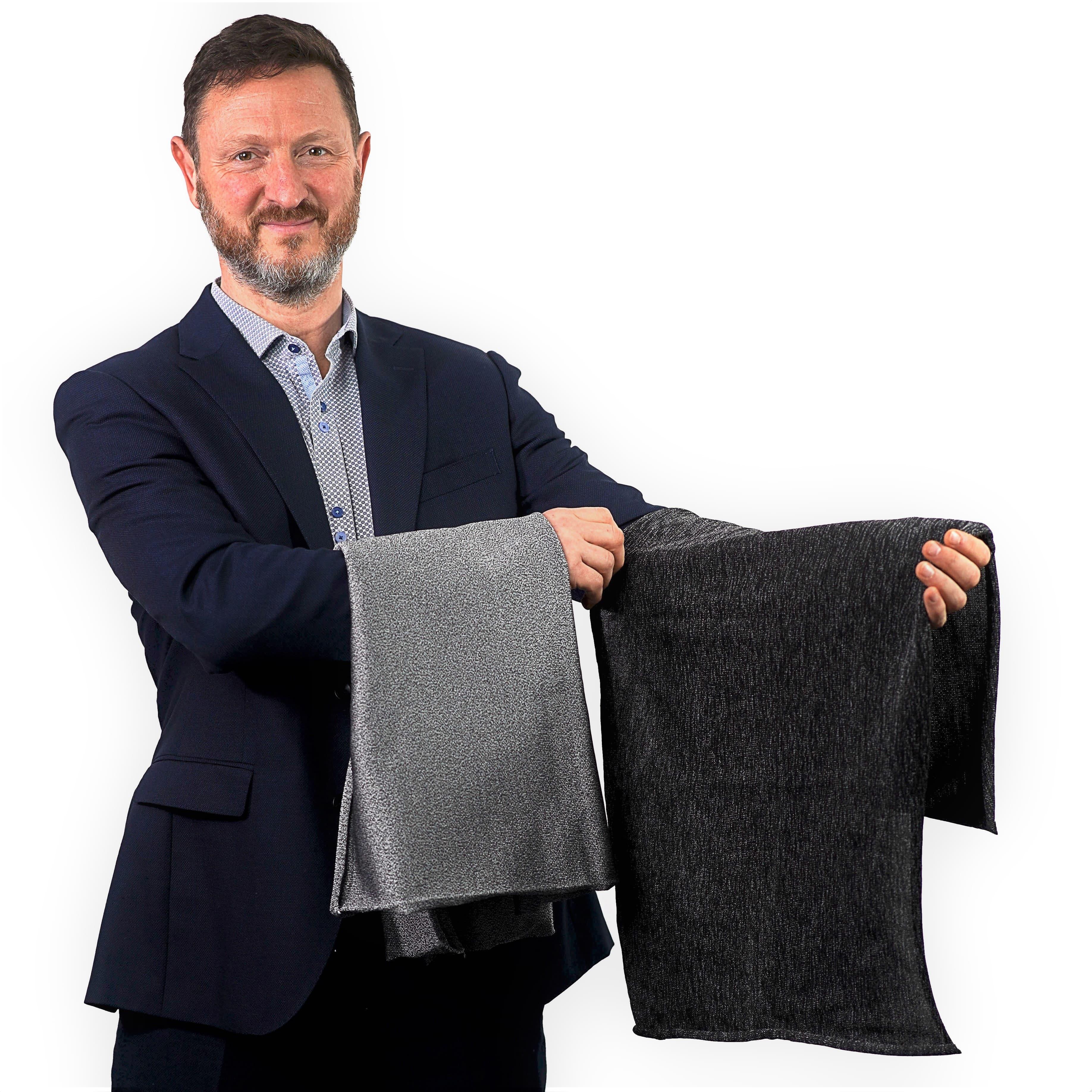 black Cut-Tex PRO cut resistant fabric