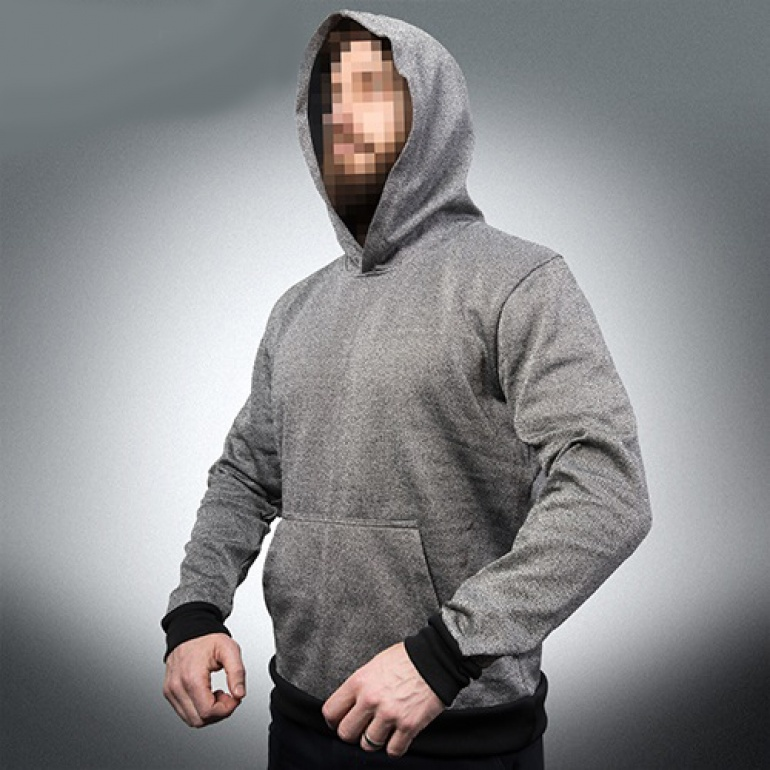 Slash Resistant Hoodie with Kangaroo Front Pocket