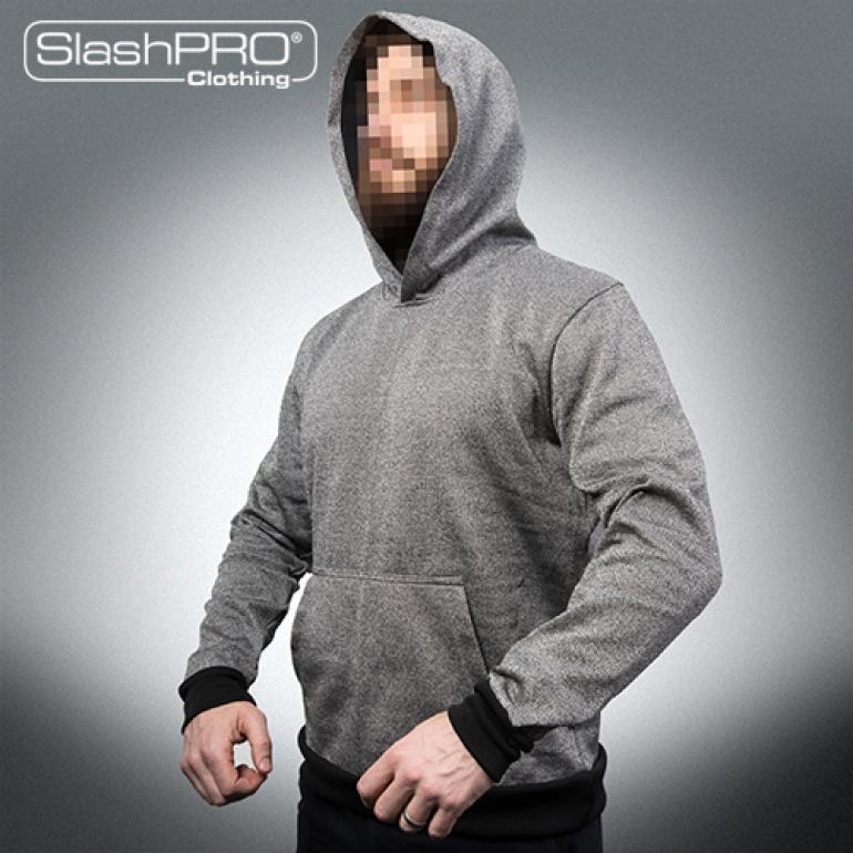 Slash Resistant Hoodie with Kangaroo Front Pocket